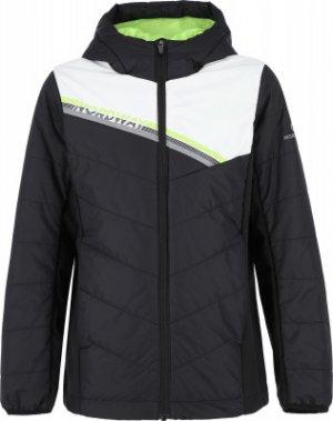 Куртка утепленная для мальчиков , размер 140 Nordway. Цвет: черный