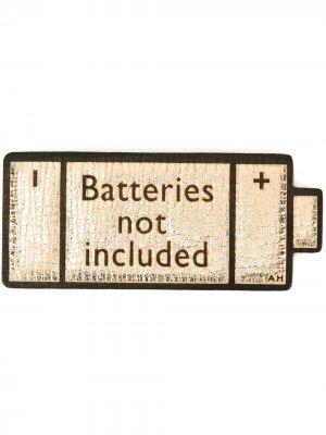 Стикер Batteries Not Included Anya Hindmarch. Цвет: нейтральные цвета