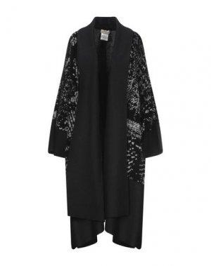Пальто FUZZI. Цвет: серый