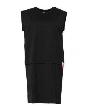 Короткое платье DIESEL. Цвет: черный