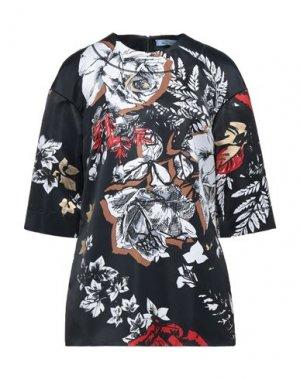 Блузка BLUMARINE. Цвет: черный