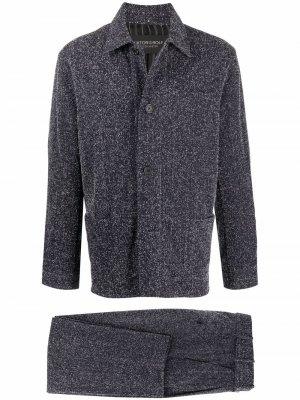 Костюм с однобортным пиджаком Viktor & Rolf. Цвет: синий
