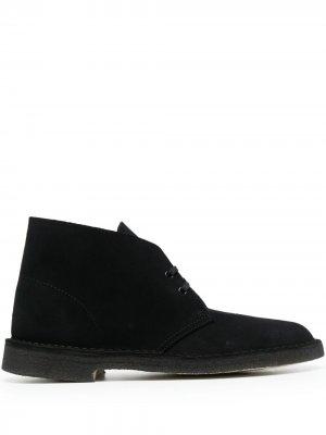 Туфли на шнуровке Clarks Originals. Цвет: черный