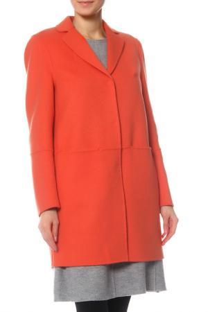 Пальто Luisa Cerano. Цвет: оранжевый