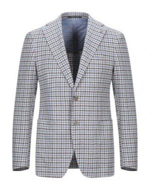 Пиджак PINO LERARIO. Цвет: лазурный