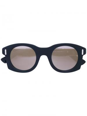 Солнцезащитные очки Diesel. Цвет: чёрный