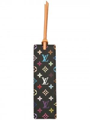 Закладка с монограммой Louis Vuitton. Цвет: черный