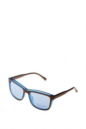 Солнцезащитные очки CKJ. Цвет: коричневый