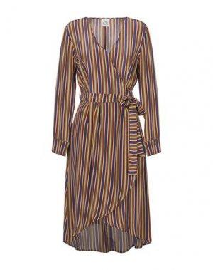 Короткое платье ATTIC AND BARN. Цвет: фиолетовый