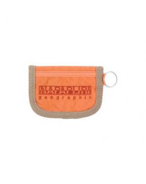 Кошелек для монет NAPAPIJRI. Цвет: оранжевый