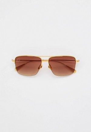 Очки солнцезащитные Baldinini BLD 2109 MTGM 602. Цвет: золотой