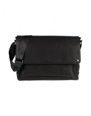Деловые сумки CAFèNOIR. Цвет: черный