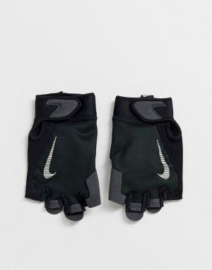 Черные мужские перчатки Training-Черный Nike