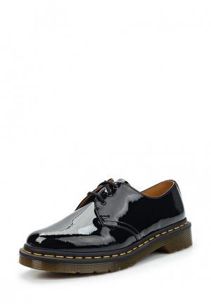 Ботинки Dr. Martens 1461. Цвет: черный