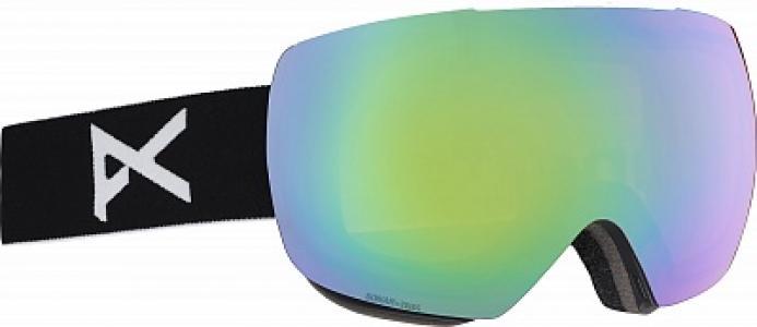 Маска сноубордическая Mig Anon. Цвет: зеленый