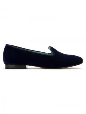 Velvet I Do loafers Blue Bird Shoes. Цвет: синий