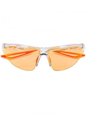 Солнцезащитные очки Tailwind из коллаборации с Nike Heron Preston. Цвет: оранжевый