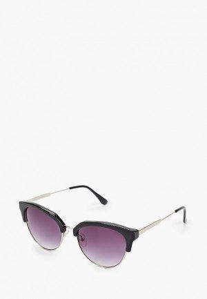 Очки солнцезащитные Fabretti. Цвет: черный