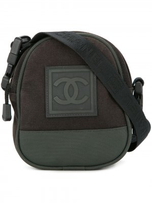 Sports logo cross body bag Chanel Pre-Owned. Цвет: черный