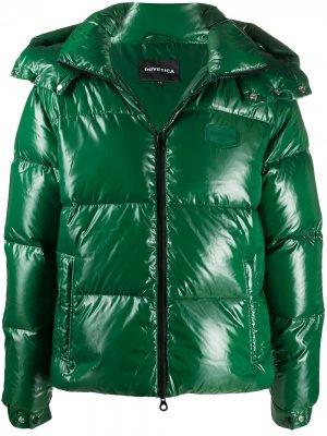 Куртка-пуховик Duvetica. Цвет: зеленый