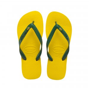 Brasil Havaianas. Цвет: желтый