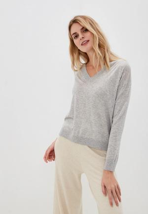 Пуловер United Colors of Benetton. Цвет: серый
