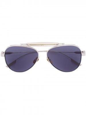 Солнцезащитные очки Cochise Jacques Marie Mage. Цвет: золотистый