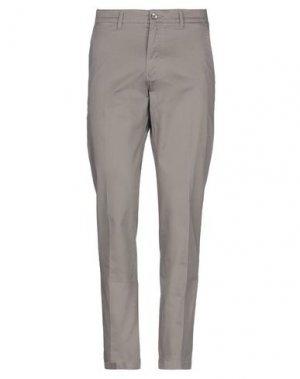 Повседневные брюки ASCOT SPORT. Цвет: серый