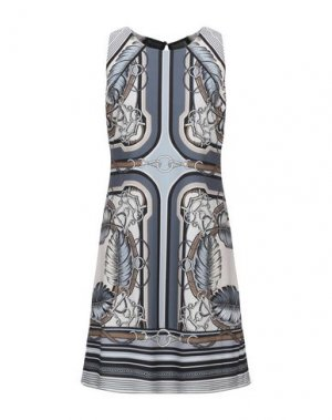 Короткое платье HALE BOB. Цвет: серый