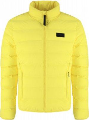 Куртка утепленная мужская Vidor, размер 52 IcePeak. Цвет: желтый