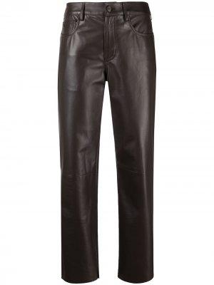 Укороченные брюки Drome. Цвет: коричневый