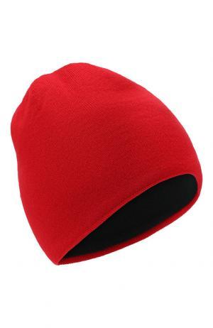 Шерстяная шапка Canada Goose. Цвет: красный