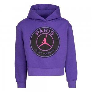 Paris Saint-Germain Fleece Pullover Jordan. Цвет: фиолетовый