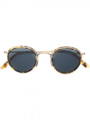 Круглые солнцезащитные очки Eyevan7285. Цвет: золотистый