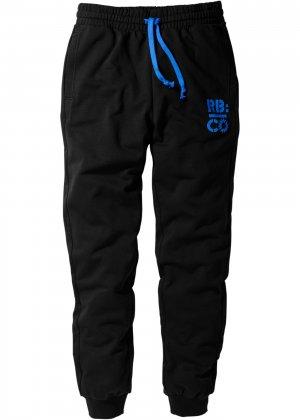 Трикотажные брюки bonprix. Цвет: черный