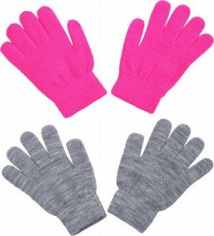 Перчатки для девочек Highland IcePeak. Цвет: розовый