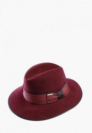Шляпа Pierre Cardin EDITH. Цвет: бордовый