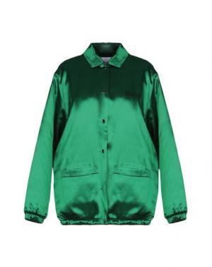 Куртка FLEAMADONNA. Цвет: зеленый