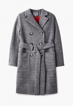 Пальто RionaKids Челси. Цвет: серый