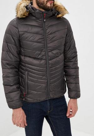 Куртка утепленная Geographical Norway. Цвет: серый