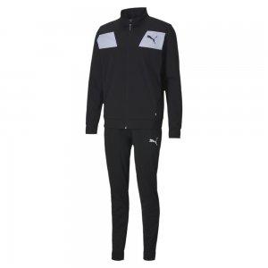 Спортивный костюм Techstripe Tricot Suit PUMA. Цвет: черный
