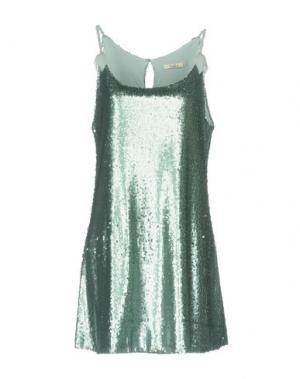 Короткое платье DARLING London. Цвет: светло-зеленый