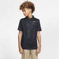Рубашка-поло с принтом для гольфа мальчиков Nike Dri-FIT