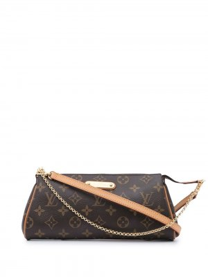 Сумка через плечо Eva 2009-го года Louis Vuitton. Цвет: коричневый