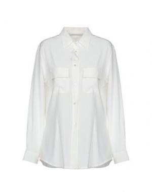 Pубашка GIO' MORETTI. Цвет: слоновая кость