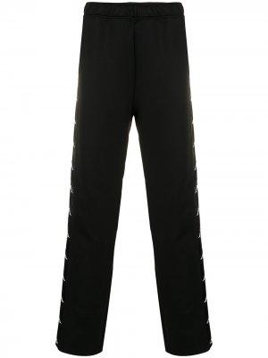 Спортивные брюки x Kappa Faith Connexion. Цвет: черный