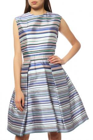 Платье Dior. Цвет: синий, розовый