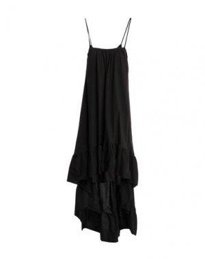 Платье до колена BAD SPIRIT. Цвет: черный