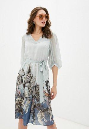 Платье Argent. Цвет: бирюзовый