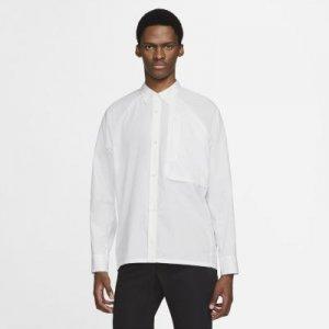 Мужская рубашка из тканого материала ESC - Белый Nike